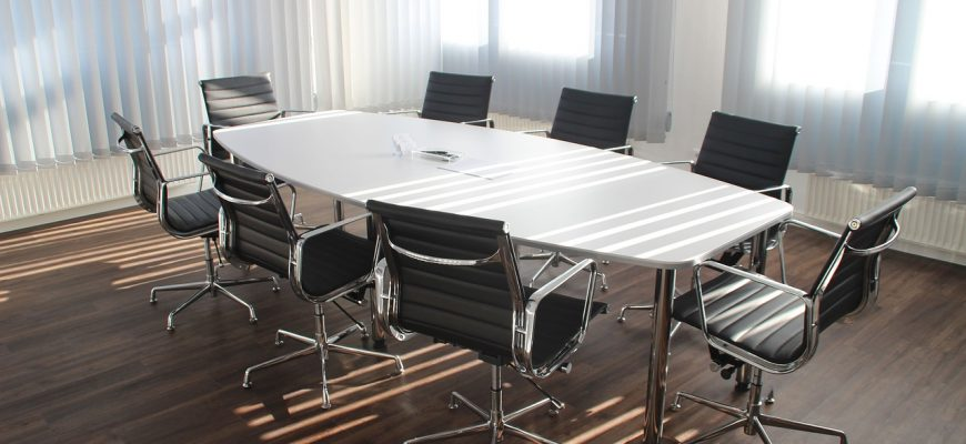 Table Office Meeting Work Business